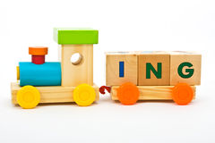 Training childs toys Stock Photography