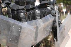 Training for civil disturbance Stock Images