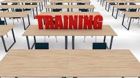 Training classroom Stock Image