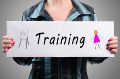 Training concept Royalty Free Stock Photo