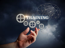Training. Training concept design art banner Royalty Free Stock Photography