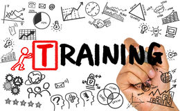 Training concept stock photography