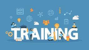 Training concept illustration. stock illustration