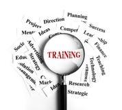 Training concept vector illustration