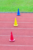 Training cones Stock Photography