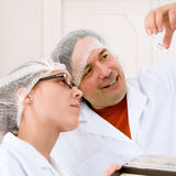 Training course on cancer screening Royalty Free Stock Image