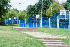 Training courts Royalty Free Stock Photos