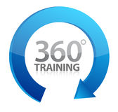 360 training cycle illustration design Stock Photography