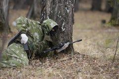 Training der russischen Polizei Besondere Kräfte swat Stockfotografie