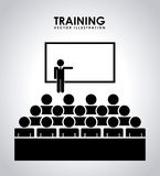 Training design Stock Photography