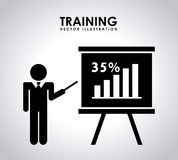 Training design Stock Images