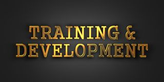 Training and Development. Business Concept. stock photos
