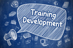 Training Development - Business Concept. Royalty Free Stock Photography