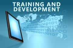 Training and Development Stock Photo