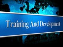 Training And Development  Stock Photo