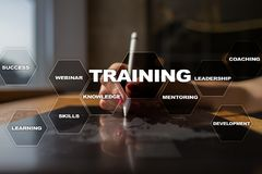 Training and development Professional growth. Internet and education concept. Training and development Professional growth. Internet and education concept royalty free stock photography