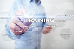 Training and development Professional growth. Internet and education concept. Training and development Professional growth. Internet and education concept stock photo