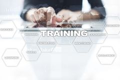 Training and development Professional growth. Internet and education concept. Training and development Professional growth. Internet and education concept stock images