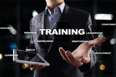 Training and development Professional growth. Internet and education concept. Training and development Professional growth. Internet and education concept stock photos