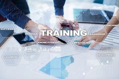 Training and development Professional growth. Internet and education concept. Training and development Professional growth. Internet and education concept royalty free stock photos