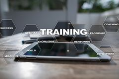 Training and development Professional growth. Internet and education concept. Training and development Professional growth. Internet and education concept stock photography