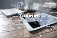 Training and development Professional growth. Internet and education concept. Training and development Professional growth. Internet and education concept stock image
