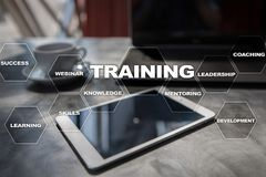 Training and development Professional growth. Internet and education concept. Training and development Professional growth. Internet and education concept royalty free stock images