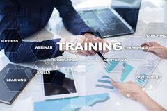 Training and development Professional growth. Internet and education concept. Training and development Professional growth. Internet and education concept royalty free stock image