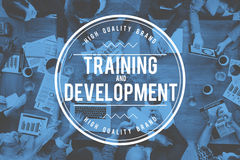 Training and Development Skill Learning Improvement Concept Stock Photo
