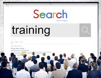 Training Development Skill Learning Improvement Education Concep Royalty Free Stock Photos