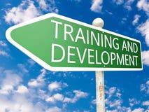 Training and Development royalty free stock image