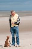 Training the dog Royalty Free Stock Images