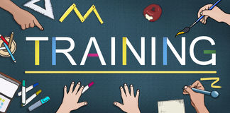 Training Education Ability Skills Studying Coaching Concept Royalty Free Stock Photography