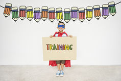 Training Education School Learning Study Concept Stock Image