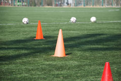 Training field Stock Photography