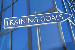 Training Goals Royalty Free Stock Image
