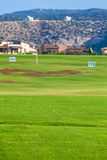 Training Golf Field for Range Shots, Cyprus Royalty Free Stock Photos
