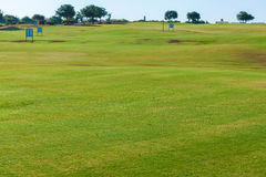 Training Golf Field for Range Shots, Cyprus Royalty Free Stock Photography
