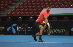 Training on Grigor Dimitrov Stock Images