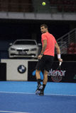 Training on Grigor Dimitrov Stock Photo