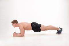 Training in gymnastiek Stock Afbeeldingen