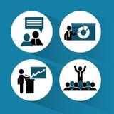 Training icon design Royalty Free Stock Images