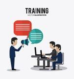 Training icon design Royalty Free Stock Photos