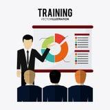 Training icon design Stock Image