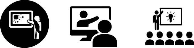 Free Training Icon On White Background Royalty Free Stock Images - 155177369