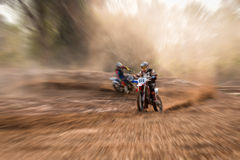 Training motocross Royalty Free Stock Images