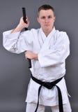 Training Nunchaku Royalty Free Stock Photo