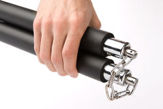 Training Nunchaku Royalty Free Stock Images