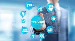Training Online Education Webinar Personal Development Motivation E-learning Business concept on virtual screen. Training Online Education Webinar Personal stock photo