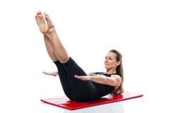 Training pilates Royalty Free Stock Image